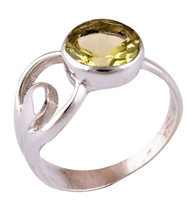 Citrine HAPPY RING