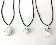 Quartz Cluster Pendants