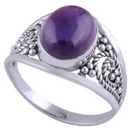 Jewel Pool Sterling Silver Ring