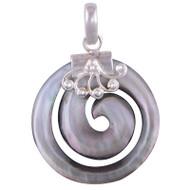 Classy Fibonacci Sterling Silver Pendant