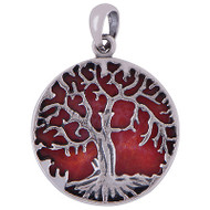 Cabochon Tree Pendants 5.6 Gram