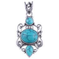 Jewel Pool Turquoise Pendant