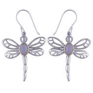 Ethiopian Opal Dragonfly Earrings