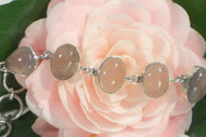 Rose Petals - Rose Quartz All-in-One Bracelet