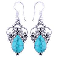 Sterling Silver Dangle Earrings 4 grams