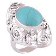 Turquoise Garden Ring