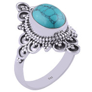 Surrounded by Flowers Ring