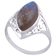 Elegant Sterling Silver Ring