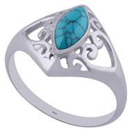 Lovers Eye Turquoise Ring