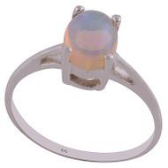 Petite Ethiopian Opal Ring