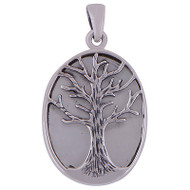 Mother of Pearl Tree Pendant