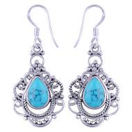 Turquoise Elegance Earrings