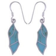 Gentle Leaves Turquoise Earrings