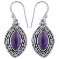 Classy Amethyst Earrings