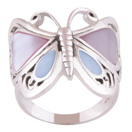 Transformation Butterfly Ring Size 6