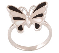 Elegant Butterfly Ring Size 8
