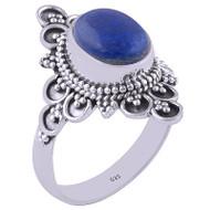 Deep Blue Sea Lapis Ring
