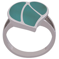 Turquoise Happy Heart Ring