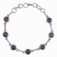 Petite Mystic Topaz All in One Silver Bracelet