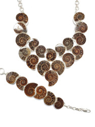 Ammonite CONDUCTIVE SILVER Set