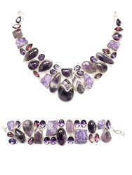 Purple Passion CONDUCTIVE SILVER Set