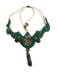 MAGNIFICENT EMERALD MACRAME