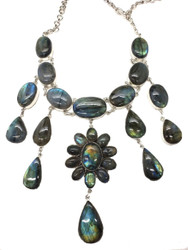 Queen of the Nile Labradorite Necklace