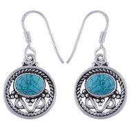 Petite Turquoise Pool Earrings