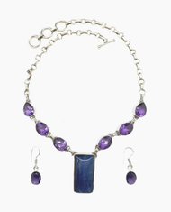 Amethyst & Kyanite Delight Set