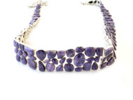 Purple Charolite Gem VIBE Belt