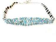 Luxury Larimar Gem Belt