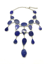 Starry Nights Lapis Necklace