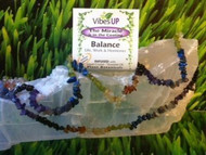 Chakra Stretchy Bracelet and Necklace Set