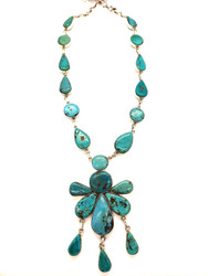 Turquoise Fairy Necklace