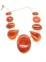 Juicy Gemmy Carnelian Necklace