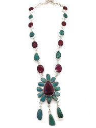 STARSEED CELEBRATION- Indian Ruby and Turquoise