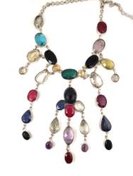 Precious Petal Cascade Necklace