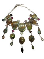 GEM FOREST CANOPY NECKLACE