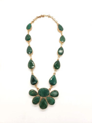 Happy Emerald Fairy Necklace