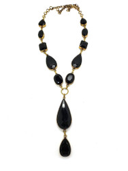 Black Velvet Beauty Necklace