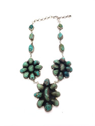 Turquoise Bouquet Necklace