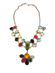Nature's Confetti Necklace