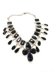 Black, Black Beauty Necklace