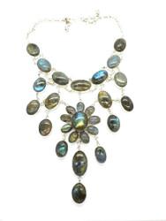 Glow Garden Cascade Necklace