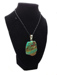 Turquoise in Raw Nature Pendant