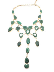 Emerald Waters Cascade Necklace