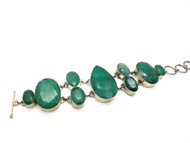 Evenings Emeralds Bracelet