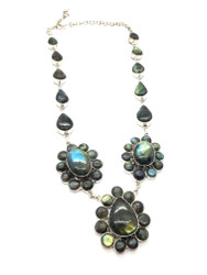 Shimmer Garden Necklace