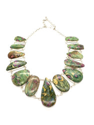 Ruby Zoisite ART by NATURE Necklace