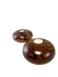 Mango Wood Round Candle Holder